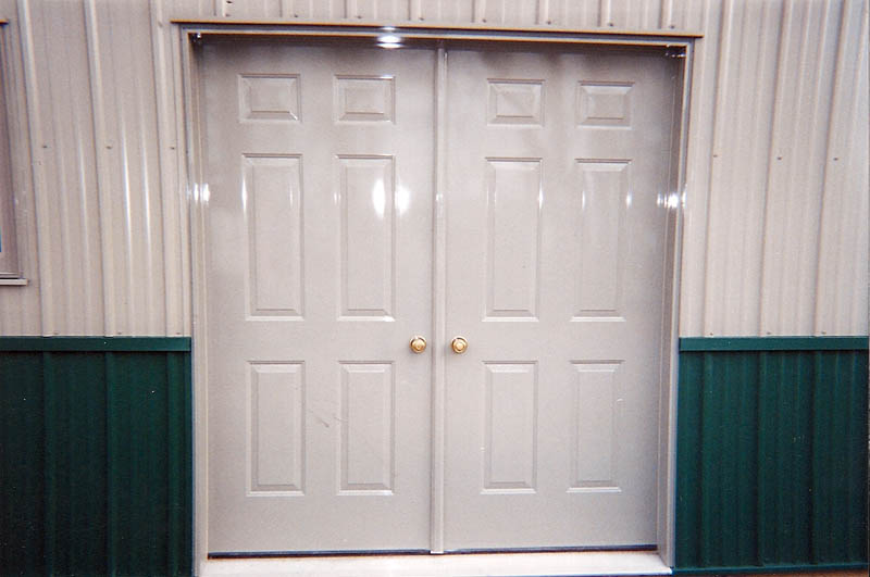 Double Steel Doors : Gallery options truax buildings